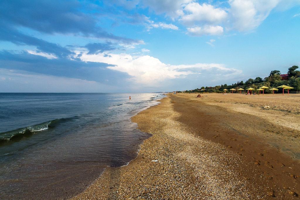 побережье Азовского моря отдых