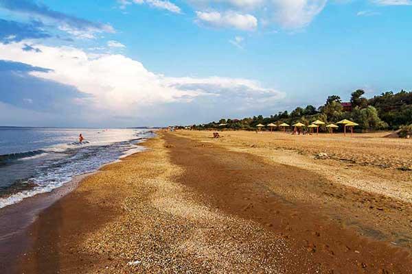 пляжи отдых азовское море