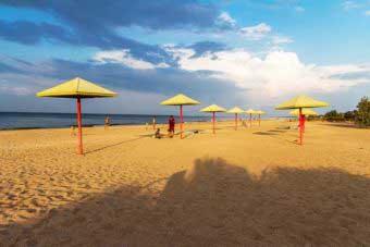 пересыпь азов лучшие пляжи